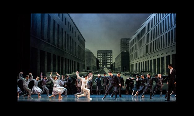 The Joffrey Dances a 20th Century Romeo and Juliet